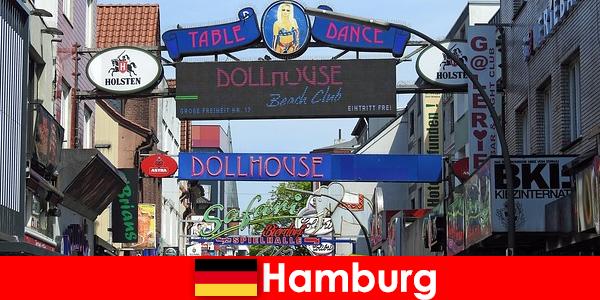 Hamburg Reeperbahn – burdeles nocturnos y servicio de acompañantes para turismo sexual