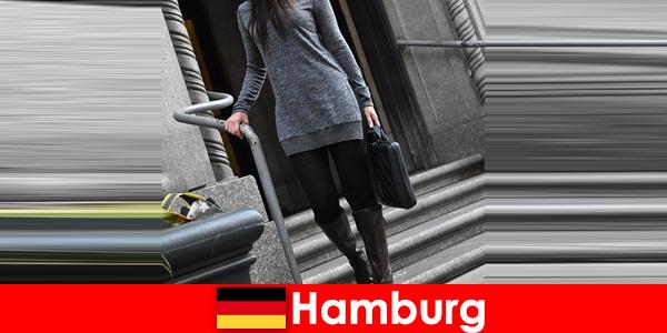 Las elegantes damas de Hamburgo miman a los viajeros con un exclusivo y discreto servicio de acompañantes