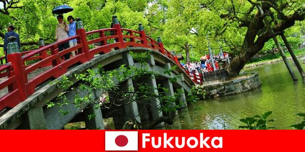 Para los inmigrantes, Fukuoka es un ambiente relajado e internacional con una alta calidad de vida.