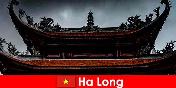 Ha Long es conocida como una ciudad cultural entre extraños.