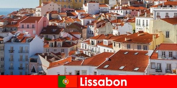 Lisboa, el principal destino turístico de la ciudad costera con sol de playa y comida deliciosa