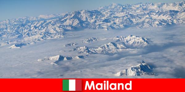 Milán, una de las mejores estaciones de esquí para turistas en Italia