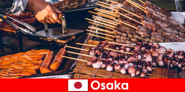 Osaka es la cocina de Japón y un puerto de escala para cualquiera que busque una aventura vacacional