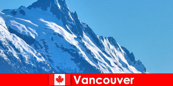 La ciudad de Vancouver en Canadá es el principal destino del turismo de montañismo