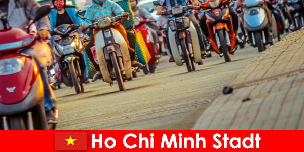 La ciudad de Ho Chi Minh es siempre un placer para los ciclistas y entusiastas del deporte.