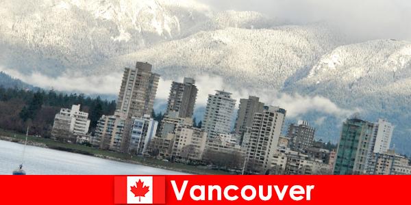 Vancouver, la maravillosa ciudad entre el océano y las montañas, abre muchas oportunidades para los turistas deportivos