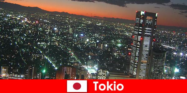 Los extraños aman Tokio, la ciudad más grande y moderna del mundo